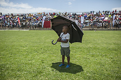 JOHANNESBURG, SOUTH AFRICA - DECEMBER 01 : People attend an event to raise awareness on World AIDS Day at Sinaba Stadium in Daveyton town Johannesburg, South Africa on December 01, 2016. Ihsaan Haffejee / Anadolu Agency  | BRAA20161201_615 South Africa Afrique du Sud South Africa