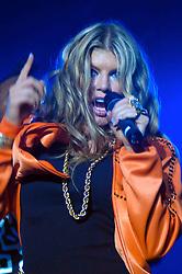 A vocalista Fergie durante o show da banda Black Eyed Peas, no auditorio da FIERGS, em Porto Alegre-RS. FOTO: Luiz A. Guerreiro/Preview.com