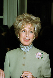 MRS WAFIC SAID wife of the multi millionaire Saudi arms dealer, at a reception in London on 12th June 1997.LZH 115