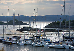 Sailing - SCOTLAND  - 26th May 2018<br /> <br /> DAY 2 Racing the Scottish Series 2018, organised by the  Clyde Cruising Club, with racing on Loch Fyne from 25th-28th May 2018<br /> <br /> Tarbert Harbour<br /> <br /> Credit : Marc Turner<br /> <br /> Event is supported by Helly Hansen, Luddon, Silvers Marine, Tunnocks, Hempel and Argyll & Bute Council along with Bowmore, The Botanist and The Botanist