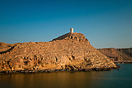Oman, Sur. One of two towers built at the entrance to the town.