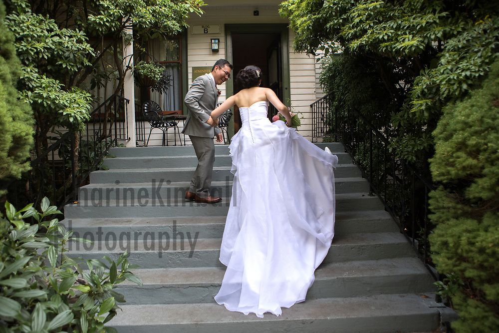 Wedding at McMenamins Edgefield in Troutdale, OR.