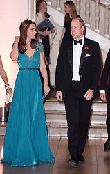 The Duke and Duchess of Cambridge attend the Tusk Conservation Awards at Banqueting House, London.