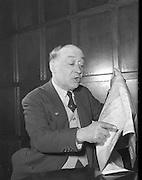 Jimmy O'Dea 1958 11/04 .Jimmy O'Dea WITH MAP.
