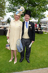 ADAM & LUCY HELLICKER at Day 1 of the 2013 Royal Ascot Racing Festival at Ascot Racecourse, Ascot, Berkshire on 18th June 2013.