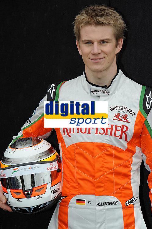 MOTORSPORT - F1 2011 - PRESENTATION DES PILOTES / DRIVERS PRESENTATION - MELBOURNE (AUS) - 25 TO 27/03/2011 - PHOTO : ERIC VARGIOLU / DPPI - <br /> HULKENBERG NICO (GER) - FORCE INDIA VJM03 - AMBIANCE PORTRAIT
