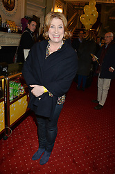 CAROLINE QUENTIN at Beautiful - The Carole King Musical 1st Birthday celebration evening at The Aldwych Theatre, London on 23rd February 2016.