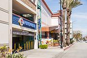 Downey California at New Street