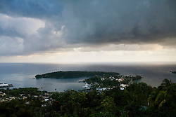 Views around Port Antonio, home of the Geejam, a luxury boutique hotel with a state of the art recording studio that has attracted famous musicians to make their albums.