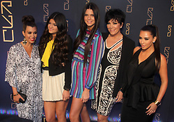 (L-R) Kourtney Kardashian, Kylie Jenner, Kendall Jenner, Kris Jenner and Kim Kardashian arriving for the Grand Opening of Scott Disick's RYU restaurant in The Meatpacking District in New York City, NY, USA on April 23, 2012. Scott Disick has teamed up with nightlight impresario Chris Reda to introduce the Meatpacking District's hottest new restaurant, RYU that will offer Japanese-inspired cuisine and world class cocktails in a chic dining space. Photo by Charles Guerin/ABACAPRESS.COM  | 317673_030 New York City Etats-Unis United States