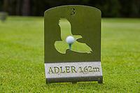 MIEMING  Oostenrijk,  -  afslagen, kleuren, dieren ipv kleuren, tee, tees, teebox, -  Golf Park Mieminger Plateau.   COPYRIGHT KOEN SUYK