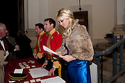 CAMILLA DE NORMAN, Charity Dinner in aid of Caring for Courage The Royal Scots Dragoon Guards Afganistan Welfare Appeal. In the presence of the Duke of Kent. The Royal Hospital, Chaelsea. London. 20 October 2011. <br /> <br />  , -DO NOT ARCHIVE-© Copyright Photograph by Dafydd Jones. 248 Clapham Rd. London SW9 0PZ. Tel 0207 820 0771. www.dafjones.com.