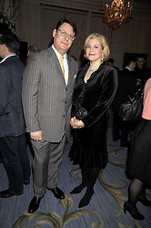 JEREMY WAYNE Restaurant Editor of Tatler and his wife TARA  at the 2009 Tatler Restaurant Awards in association with Champagne Louis Roederer held at the Mandarin Oriental Hyde Park, 66 Knightsbridge, London SW1 on 19th January 2009.