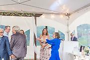 Patricia & Michael's Summer Backyard Wedding