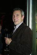 Mathew Hilton, Elle Decoration Design Awards, The Wallace Collection, Hertford House, Manchester Square, London. 5 November 2007. -DO NOT ARCHIVE-© Copyright Photograph by Dafydd Jones. 248 Clapham Rd. London SW9 0PZ. Tel 0207 820 0771. www.dafjones.com.