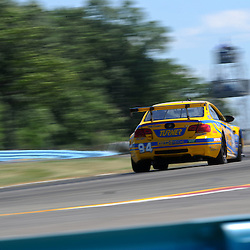 July 1, 2012 - The Turner Motorsport BMW M3 driven by Bill Auberlen, Paul Dalla Lana and Billy Johnson races in The Grand-Am Rolex Sports Car Series Sahlen's Six Hours of the Glen.