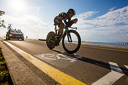 Urska Zigert competing Slovenia Road Cycling Championship Time Trial 202, on June 17, 2021 in Koper, Slovenia. Photo by Grega Valancic / Sportida.
