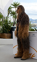 Chewbacca at the Solo: A Star Wars Story film photo call at the 71st Cannes Film Festival, Tuesday 15th May 2018, Cannes, France. Photo credit: Doreen Kennedy
