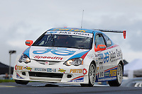 2008 British Touring Car Championship.  Knockhill, Scotland, United Kingdom.  16th-17th August 2008.  (77) - Mike Jordan (GBR) - Team Eurotech Honda Integra. World Copyright: Peter Taylor/PSP. Copy of publication required for printed pictures. Every used picture is fee-liable.