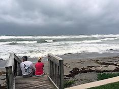 US: Hurricane Matthew Heading for Charleston South Carolina, 7 Oct. 2016