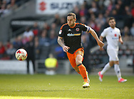 Billy Sharp of Sheffield Utd during the English League One match at  Stadium MK, Milton Keynes. Picture date: April 22nd 2017. Pic credit should read: Simon Bellis/Sportimage