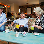 19.07.2016              <br /> The great patchwork quilt of characters that makes up Limerick city centre is being unveiled in a new digital marketing campaign that captures the diversity and wit of one of Limerick's greatest assets – its people.<br /> <br /> Pictured at the Stormy Teacup, Fox's Bow Limerick  were, Sarah Evans, Limerick Carriage Tours, Paul Craughan, O'Connells Butchers and Eleanor Purcell, Cahills Shop who all feature in the campaign videos.<br /> <br /> Launched today by the Office of Communications/Marketing at Limerick City and County Council, 'Our City, Our Stories' is a series of video shorts that will illustrate the wonderful mix of humour and personality of Limerick people.<br /> <br /> The videos, created by Southern Media, can be viewed on Limerick.ie social media (Facebook, Twitter and Instagram) and a new story will appear every two days and on Limerick.ie/ourcitystories over a ten week period. The first series focuses on the city centre. Picture: Alan Place