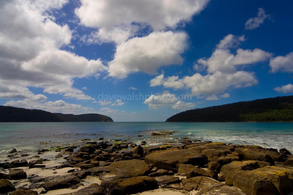 Fortescue Bay, Tasman Peninsula, Tasmania..