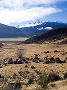 The Puketeraki Range near Arthur's Pass, New Zealand