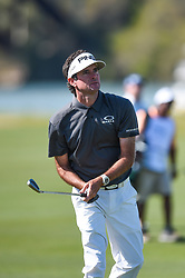 March 21, 2018 - Austin, TX, U.S. - AUSTIN, TX - MARCH 21: Bubba Watson watches his approach shot during the First Round of the WGC-Dell Technologies Match Play on March 21, 2018 at Austin Country Club in Austin, TX. (Photo by Daniel Dunn/Icon Sportswire) (Credit Image: © Daniel Dunn/Icon SMI via ZUMA Press)