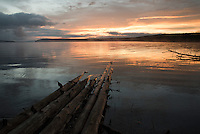Sunrise on Shoshone Lake will make a 6-mile side trip to camp at the largest backcountry lake in the Lower 48 states worthwhile.