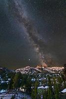 Milky Way over Eagle Cap, Eagle Cap Wilderness Wallowa Mountains Oregon