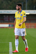 Brighton and Hove Albion midfielder Tudor Baluta (68) portrait during the EFL Trophy Southern Group G match between AFC Wimbledon and Brighton and Hove Albion U21 at The People's Pension Stadium, Crawley, England on 22 September 2020.