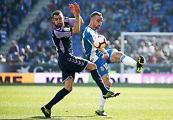 March 2, 2019 - Barcelona, Catalonia, Spain - Sergi Darder during the match between RCD Espanyol and Valladolid CF, corresponding to the week 26 of the Liga Santander, played at the Camp Nou Stadium, on 02th March 2019, in Barcelona, Spain. Photo: Joan Valls/Urbanandsport /NurPhoto. (Credit Image: © Joan Valls/NurPhoto via ZUMA Press)