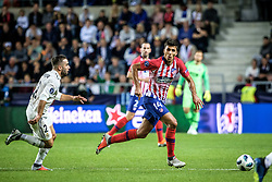August 15, 2018 - Tallinn, Estonia - Rodri of Atletico Madrid in action at UEFA Super Cup 2018 in Tallinn..The UEFA Super Cup 2018 was played between Real Madrid and Atletico Madrid. Atletico Madrid won the match 4-2 during extra time after and took the trophy after drawing at 2-2 during the first 90 minute of game play. (Credit Image: © Hendrik Osula/SOPA Images via ZUMA Wire)