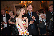 JESSICA LAMBERT; ANTHONY LANE, launch of Sophie Hannah's Agatha Christie ' The Monogram Murders ' at the Ritz London. 8 September 2014
