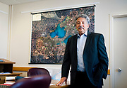MADISON, WI — SEPTEMBER 15: Madison Mayor Paul Soglin poses for a portrait in his office inside the City County Building in downtown Madison, Tuesday, September 15, 2015.