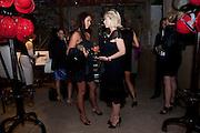 emma david,; elizabeth vardinogannis; , Early launch of Rupert's. Robin Birley  new premises in Shepherd Market. 6 Hertford St. London. 10 June 2010. .-DO NOT ARCHIVE-© Copyright Photograph by Dafydd Jones. 248 Clapham Rd. London SW9 0PZ. Tel 0207 820 0771. www.dafjones.com.