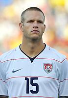 Fotball<br /> USA v Brasil<br /> Foto: DPPI/Digitalsport<br /> NORWAY ONLY<br /> <br /> FOOTBALL - CONFEDERATIONS NATIONS CUP 2009 - GROUP B - 1ST ROUND - USA v BRAZIL - 18/06/2009<br /> <br /> JAY DE MERIT (USA)