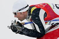 OL 2006 Langrenn menn 15km,<br />Pragelato Plan<br />17.02.06 <br />Foto: Sigbjørn Hofsmo, Digitalsport <br /><br />Frode Estil NOR Norge