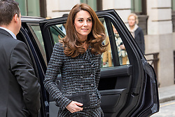 The Duchess of Cambridge (Catherine, Kate Middleton) attends The Royal Foundation's 'Mental Health in Education' conference in London, February 13 2019. 13 Feb 2019 Pictured: The Duchess of Cambridge (Catherine, Kate Middleton). Photo credit: MEGA TheMegaAgency.com +1 888 505 6342
