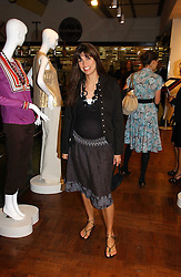 Model LISA BARBUSCIA  at a party hosted by Elizabeth Saltzman and Harvey Nichols to celebrate the UK launch of New York fashion designer Tory Burch held at the Fifth Floor Restaurant, Harvey Nichols, Knightsbridge, London on 24th May 2006.<br /><br />NON EXCLUSIVE - WORLD RIGHTS