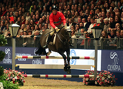 Charlie Swan competes in the Markel Champions Challenge in aid of the Injured Jockeys Fundduring day four of the London International Horse Show at London Olympia. PRESS ASSOCIATION Photo. Picture date: Friday December 15, 2017. See PA story EQUESTRIAN Olympia. Photo credit should read: Steve Parsons/PA Wire