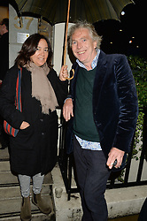 MATTHEW HORTON and DOMITILLA GETTY at a private view of William Roper-Curzon's latest paintings held at Julian Hartnoll, 37 Duke Street, St.James's, London on 9th October 2014.