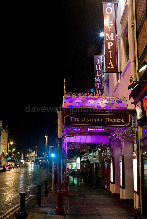 The Olympia Theatre, Dublin, on Dame St.