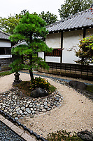 During the Edo Period Kawagoe Honmaru Goten was built by Matsudaira Naritsune, a Kawagoe feudal leader and built the oldest building still standing in Kawagoe.  In 1639, the Tokugawa Shogunate leader  Matsudaira Nobutsuna implemented a large scale construction project to expand Kawagoe Castle. After the Meiji Restoration, Honmaru Goten was torn down and what remains today is only one part of what was reconstructed in 1848.  Most of the rooms at Honmaru Goten are surrounded by Japanese gardens.  Some corridors have small gardens next to them with many windows for the sake of air circulation.