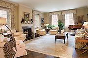 The Manhattan apartment of Harry Belafonte.