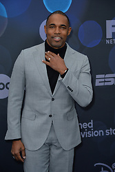 May 14, 2019 - New York, NY, USA - May 14, 2019  New York City..Jason Winston George attending Walt Disney Television Upfront presentation party arrivals at Tavern on the Green on May 14, 2019 in New York City. (Credit Image: © Kristin Callahan/Ace Pictures via ZUMA Press)
