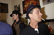 Stephanie Bergot and Robin Banks. The Clash, photographs by Bob Gruen. Proud Gallery. 26 September 2001. © Copyright Photograph by Dafydd Jones 66 Stockwell Park Rd. London SW9 0DA Tel 020 7733 0108 www.dafjones.com