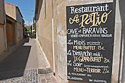 Restaurant Le Patio. Maugio, Languedoc, France.