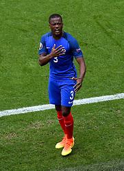 Patrice Evra of France celebrates  - Mandatory by-line: Joe Meredith/JMP - 26/06/2016 - FOOTBALL - Stade de Lyon - Lyon, France - France v Republic of Ireland - UEFA European Championship Round of 16